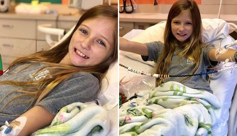 The girl mysteriously cured of a deadly disease