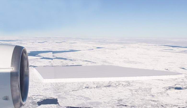 The incredible rectangular iceberg turned out to be true, NASA confirmed