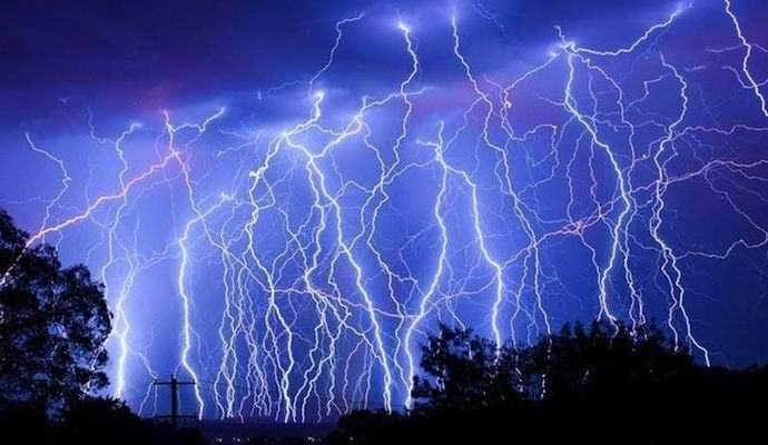 Mysterious lightning struck dozens of Germans